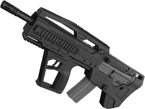 SRU AR Bullpup Kit for TM Spec M4 Airsoft AEG Rifles (Color: Black)