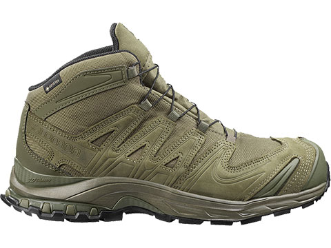 Salomon XA Forces MID GTX EN Tactical Boots - Ranger Green (Size: 12)