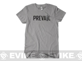 z SureFire Prevail Short Sleeve T-Shirt - Grey (Medium)