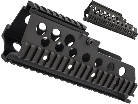 Matrix CNC Aluminum Railed Handguard for G36 Series Airsoft Rifles (Length: 8.5 / G36C)