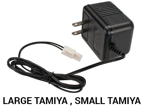 Standard Wall Charger for 6~8.4V Airsoft / RC NiCd & NiMh Batteries (Connector: Small Tamiya)