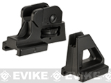 KJW KC-02 V1 Metal Front & Rear Iron Sight Set