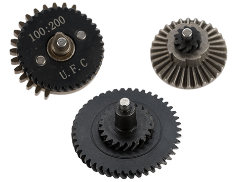 UFC CNC Steel High Torque Gear Set (Type: 100:200)