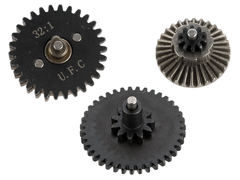 UFC CNC Steel Infinite Torque Gear Set (Type: 32:1)