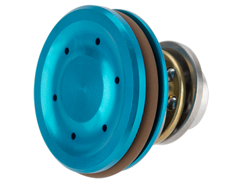 UFC CNC Machined Ventilated Concave Alunimum Piston Head for Airsoft AEG Gearboxes (Color: Blue)