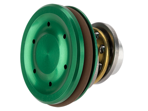 UFC CNC Machined Ventilated Concave Alunimum Piston Head for Airsoft AEG Gearboxes (Color: Green)