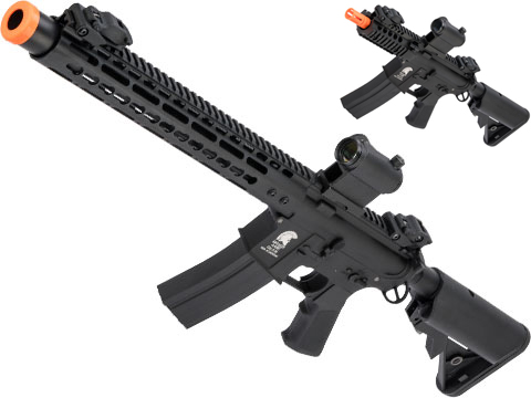 Matrix / S&T Sportsline Metal-Bodied M4 RIS Airsoft AEG Rifle w/ G2 Micro-Switch Gearbox