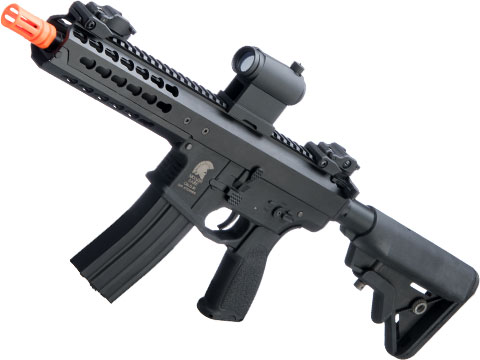 Matrix Warlord Modular Airsoft AEG (Model: B / SBR / Black)
