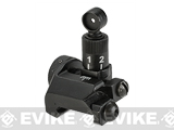 Avengers Metal SR16 Style Flip-Up M4 / M16 / AR15 Rear Sight