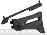 UFC G36 Extendable Folding Stock and Upper Sight Rail Set - Black
