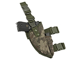 Matrix Deluxe Tactical Thigh Holster (Color: Forest Serpent / Right)