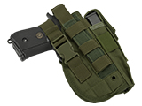 Matrix Universal MOLLE / Belt Mount Holster for Handguns pistols (Color: OD Green)