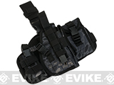 Matrix Drop Leg MOLLE Platform w/ Holster and Pouch Set (Color: Urban Serpent)