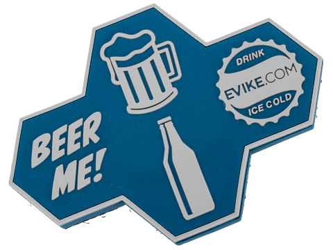 Evike.com Beer Me PVC Morale Patch w/ Bottle Opener