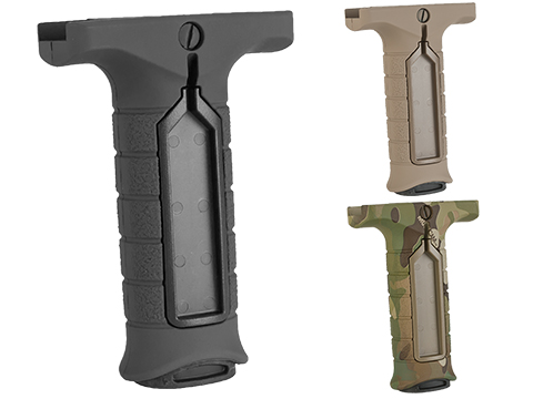 Stark Equipment SE3 Forward Vertical Grip with Pressure Switch Pocket (Color: Black)