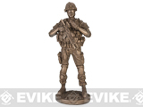 Evike.com Armed Forces Resin Statue - Reporting for Detail