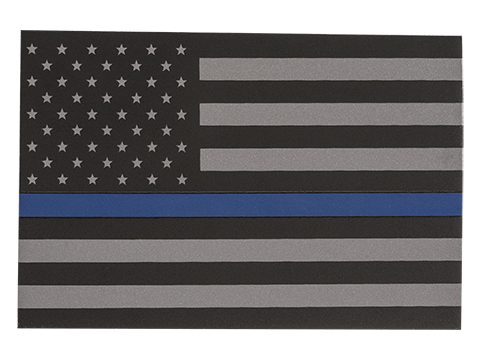 Thin Blue Line Flag Vinyl Sticker