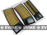 Enten High Quality Dummy 5.56 Bullet Sticker for G36 / G39 Series Airsoft AEG Magazines