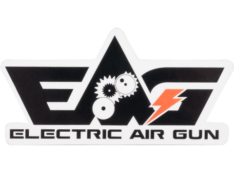 Electric Air Gun Logo Sticker