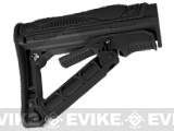G&G GOS-V1 Retractable Stock for M4/M16 Series Airsoft AEG - (Black)