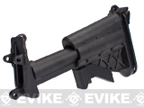 Matrix Mk46 5-Position Retractable Stock for M249 / Mk46 / Mk43 Series Airsoft Machine Guns