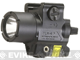 Streamlight TLR-4 125 Lumen C4 LED Rail Mounted Weapon Light with Integrated Laser - Black