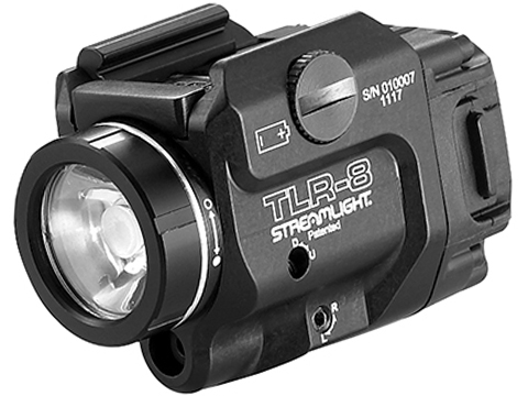 Streamlight TLR-8 500 Lumen LED Compact Weapon Light with Integrated Red Laser