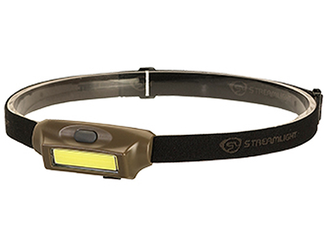 Streamlight Bandit Rechargeable LED Headlamp (Color: Coyote w/ White & Green LED)