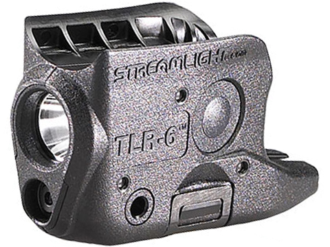 Streamlight TLR-6 LED Weapon Light w/ Red Laser (Model: M&P Shield™ 9mm / 40 S&W)