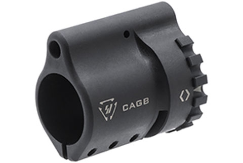 Strike Industries Collar Adjustable Gas Block for .750 Diameter AR15 Barrels
