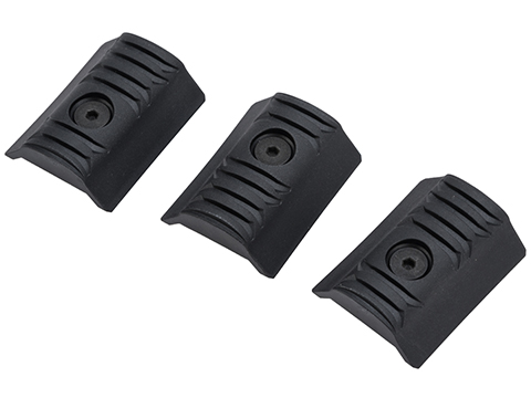 Strike Industries LINK Modular Rail Covers (Color: Black / 3pcs)