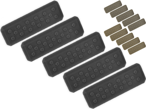 Strike Industries M-LOK Rail Covers V1 (Color: Black)