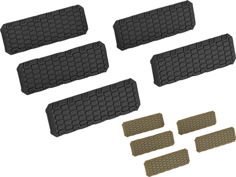 Strike Industries M-LOK Rail Covers V2 (Color: Black)