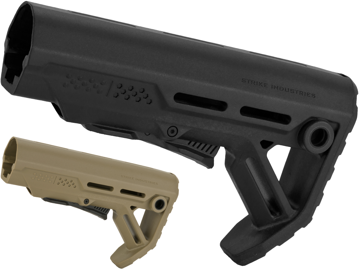 Strike Industries Viper Mod1 Adjustable Stock for M4/M16 Series Airsoft AEGs (Color: Black)