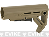 Strike Industries Viper Mod1 Adjustable Stock for M4/M16 Series Airsoft AEGs (Color: Tan)