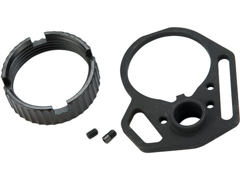 Strike Industries Multi-Function End Plate and Anti-Rotation Castle Nut for AR15 / M4 Rifles
