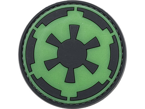 PVC Morale IFF Hook & Loop Cosmic Dominion Patch (Color: Green)