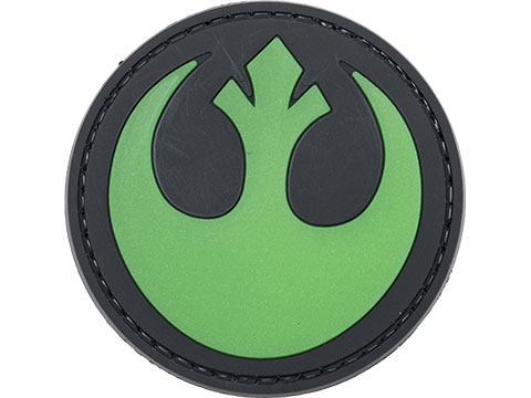 PVC Morale IFF Hook & Loop Resistance Coalition Patch (Color: Green)