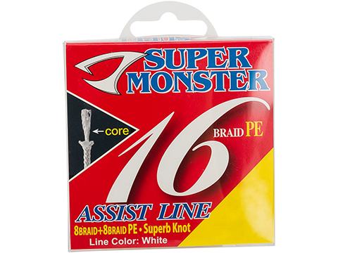 Jigging Master Super Monster Assist Line (Size: #40/300lb)