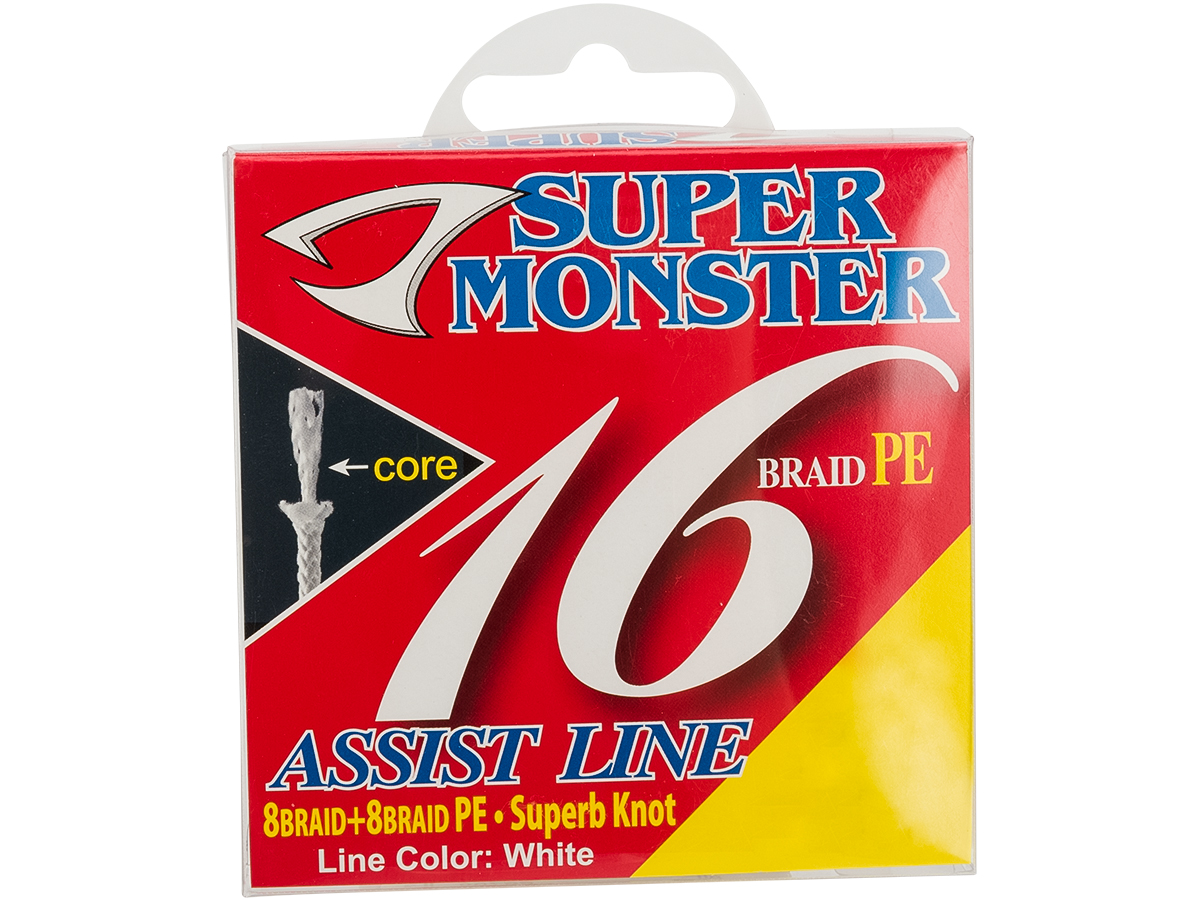 Jigging Master Super Monster Assist Line (Size: #50/350lb)