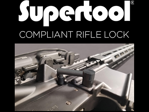 Supertool Compliant Rifle Lock for Real AR15 Rifles
