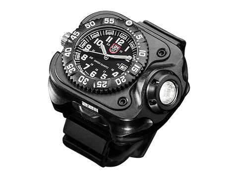 SureFire 2211® Luminox® WristLight w/ Rechargeable Variable-Output LED Flashlight + Watch