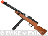 (July 4th EPIC SALE!) Snow Wolf Real Wood M1938 WW2 Model / Modello 38A Airsoft AEG Sub-Machine Gun