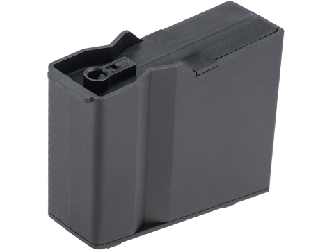 6mmProShop Polymer Magazine for Barrett M82A1 and M107A1 Series Airsoft Bolt Action Rifles (Color: Black)
