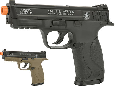 Smith & Wesson Licensed M&P40 Full Size Airsoft Spring Pistol