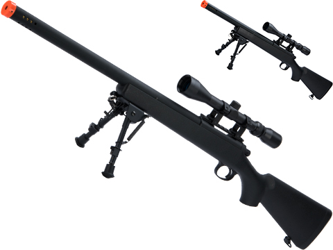 Matrix M700 VSR-10 Bolt Action Sniper Rifle w/ Bull Barrel by Snow Wolf