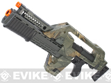 Matrix Limited Edition Custom Alien Pulse Rifle Airsoft AEG (Forest Camo)