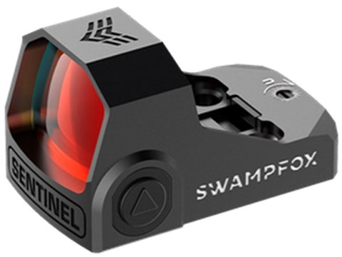 Swampfox Sentinel 1x16 Sub-Compact 3 MOA Micro Red Dot Sight (Model: Manual Brightness - Shake n Wake)