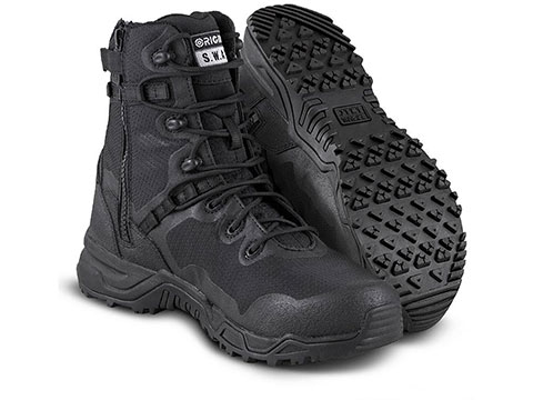 Original Swat Alpha Fury 8 Side Zip Boots (Size: 5.5)