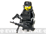Battle Brick Customs Military Mini-Figure (Model: SWAT Sniper)
